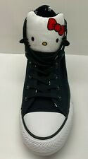 Hello Kitty Converse Size 7 Black Sneakers New Womens Shoes