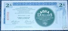 Municipal Trade Note $2 Aqua dollar Chambly QC 1996