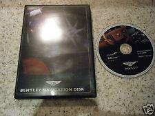 BENTLEY WESTERN EUROPE SAT NAV DISC SATELLITE NAVIGATION DVD ROM FREE POST 2008