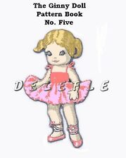 Ginny Doll Pattern 7-8 inch outfits Book No. 5 wardrobe
