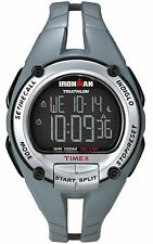 Timex Ironman Triathlon 50 Lap Womans Sports Watch  Light Grey Turquoise 5k162