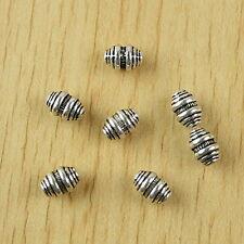25pcs Tibetan silver spiral spacer beads h2509