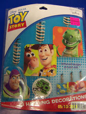RARE Toy Story 3 Disney Pixar Cartoon Birthday Party Dangling Cutout Decorations