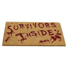 Gothic Zombie Fußmatte Türmatte Fußabtreter Survivors Inside Überlebende Innen