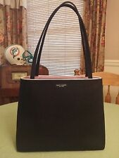 Kate Spade Black Canvas Handbag/Purse/Shoulder bag
