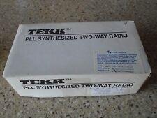 GENUINE'' PAIR TEKK 1NT-40 HANDHELD RADIO UHF PORTABLETWO-WAY RADIO NT-8/9/20/40