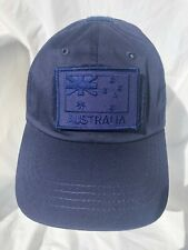 Navy Blue Tactical Operator Cap with Navy ANF Subdued Patch