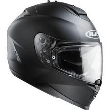 HJC IS-17 Plain Full Face Motorcycle Scooter Crash Helmet Free Pinlock Insert