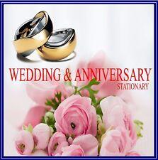 ANNIVERSARY & WEDDING CRAFT CARD MAKING STATIONERY INSTANT