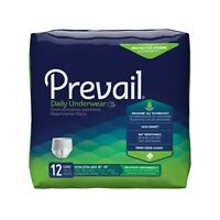 Prevail Extra Absorbency Underwear Diaper, 2X-LARGE, XXL,  PV-517 - Case of 48