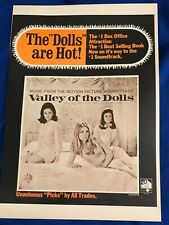 Valley of the Dolls 1967 Movie Advertisement 20th Century Fox Records