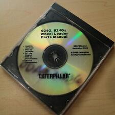 Cat Caterpillar 924g 924gz Front End Wheel Loader Part Cd Manual Book Catalog
