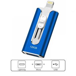 1T-64G Portable external storage photo U disk flash Stick drive for iPhone iPad