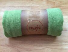 No Skid Premium Microfiber Green MAJI SPORTS 24x72 Yoga Towel Skidless NWT