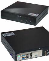 Piccolo + Silenzioso Pc 80gb HDD Dvd-Rom C7 1,5gz CPU Jetway Scheda Madre