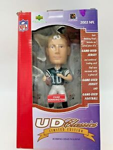 UP COLLECTIBLES CHAD PENNINGTON BOBBLE HEAD NFL #10 - 2003 FREE SHIPPING