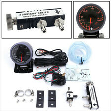 60mm Car Turbo Boost Gauge LED Display with Adjustable Controller Valve 1-30 PSI