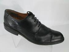 ECCO Oxford Dress Shoes Mens Sz 48 US 14 Black Leather Lace Up