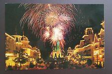 Walt Disney World Fantasy in the Sky Fireworks Postcard Vintage early 1980s