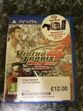 Virtua Tennis 4 (World Tour Edition) Playstation PS Vita Jeu Complet
