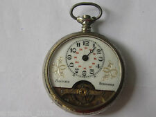 Antique Swiss Pocket Watch HEBDOMAS 8 DAYS JOURS  for parts or repair