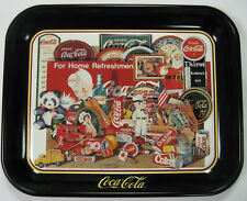 """Coca Cola 1996 Commemorative Tray - Collage """"Through the Years"""" - 2nd Ed - MINT"""