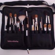 Makeup Brush Case Travel Organizer Tool Belt Apron Cosmetics Black Pu Zipper