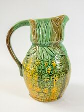 More details for hand painted porcelain pineapple jug - in the style of oliver bonas, zara home
