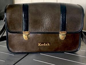 Vintage Kodak Camera Bag with Shoulder Strap
