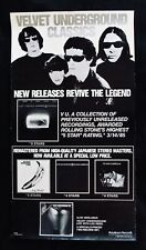 VELVET UNDERGROUND~Rare Promotional Only Poster~Lou Reed~John Cale~Nico