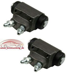 Ford Ka Satz Set Kit Radbremszylinder Bremse Bremsen hinten Hinterachse
