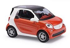 Busch 50701 - 1/87/h0 Smart Fortwo 2014-CMD-Rouge-Neuf