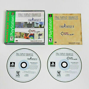 Final Fantasy Chronicles CIB with registration (Sony PlayStation 1) VG Cond