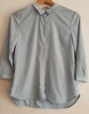 H&M Light Blue 3/4 length sleeve Blouse/Shirt, Size 12, BNWT