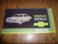 repair manuals literature for 1966 chevrolet chevelle ebay rh ebay com Ford Truck Chilton Repair Manual Chilton Repair Manuals Ford