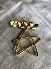 Brooch Pin Jewelry Yf-33 Gold Tone Metal Star