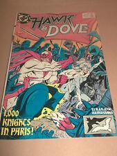 HAWK & DOVE # 6 NOVEMBER 1989 FINE BUY 3 GET 1 FREE