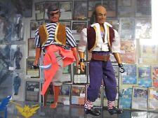 Vintage Matchbox Fighting Furies Cap'n PegLeg & Cap'n Hook Pirate LesneyToy 1973