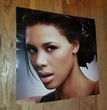 Beautiful Asian American Female Sexy Hair Salon Retail Display poster Dresser