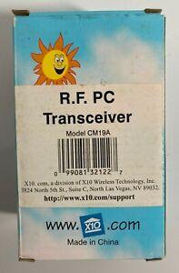 New in box X10 R.F. PC Transceiver Model CM19A