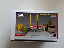 Mig Productions 1/72 modern city accessorios