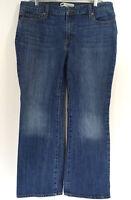 Levis 515 Jeans Bootcut Womens size 16 M Medium Wash Distressed Inseam 28 Denim