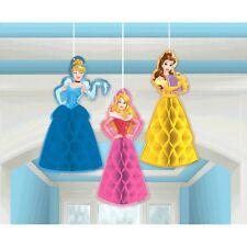 Disney Princess 'Dream Big' Birthday Party Hanging 3D Honeycomb Decorations