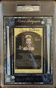 2012 Legends of The Hall Don Sutton #40/80 AUTOGRAPH - PSA/DNA GEM MINT 10🔥