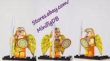 Custom LEGO minifig Super Heroes Wonder Woman in Golden Eagle Armor