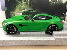 Mercedes Benz AMG GT-R Coupe, green hell magno, 1:18 Modellauto, Norev