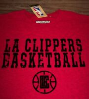 VINTAGE STYLE LOS ANGELES CLIPPERS NBA BASKETBALL T-Shirt 2XL XXL NEW w/ TAG