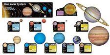 Enseñar el Sistema Solar Bulletin Board gran aula Display Banner Set