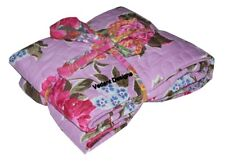 Floral Pink Handmade Baby Quilt For Nursery Toddler Bedding Warm Baby Blanket