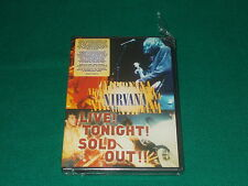 Nirvana dvd Live! Tonight! Sold Out!
